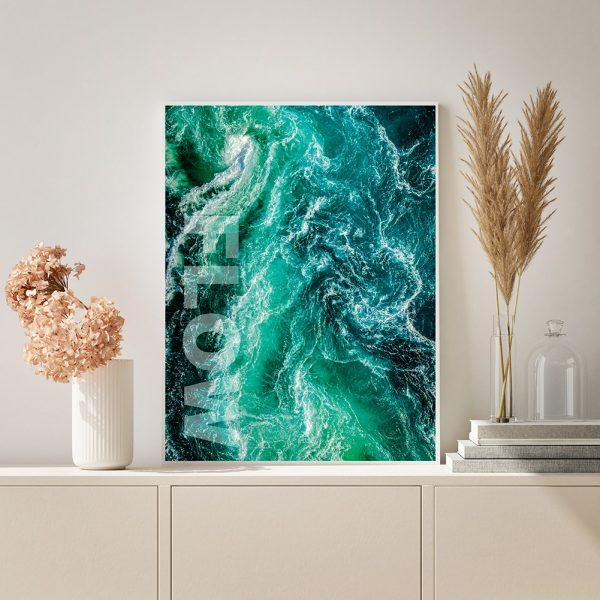 Plakat - Flow
